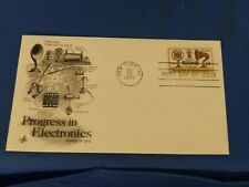 Scott #1502 15 Cent Stamp Honoring Progress In Electronics First Day Issue