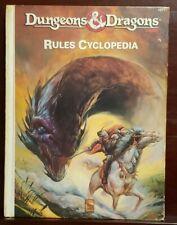 TSR Basic D&D  Rules Cyclopedia - Hardback