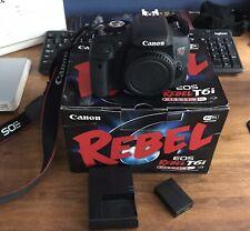 Canon EOS Rebel T6i DLSR Camera