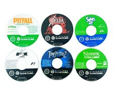 Lot de 8 jeux Gamecube / Loose / HS - Semi HS - PAL FR