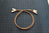"""Accuphase """"super refined cable"""" in 2x 1 Meter XLR - Topzustand!"""