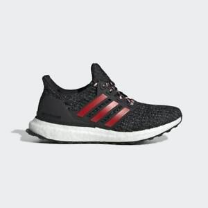 Adidas Ultra boost J 3.0 Kids Running Shoes Core Black/Grey/Orange F34718 NEW!