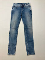G-STAR RAW 3301 CONTOUR HIGH SKINNY Jeans -W27 L32 -Blue-Great Condition-Women's