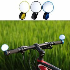 Rotate Bicycle Cycling Bike Back Rear View Handlebar Safety Rearview Mirror Hot