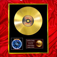 DEF LEPPARD ADRENALIZE CD GOLD DISC RECORD LP VINYL AWARD DISPLAY FREE P&P!