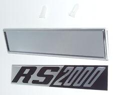 """Ford Escort MK1 Emblem Kotflügel """"RS 2000""""  NEU!"""