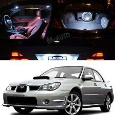 For 06-07 Subaru Impreza AWD STI WRX LED Xenon White Light Bulb Interior Kit2