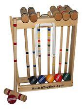 amishtoybox.com Deluxe Croquet Set