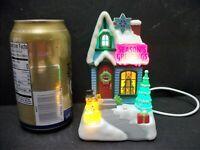 2009 Hallmark Caroling Cottages SEASONS GREETINGS Music & Lights WORKS See Video