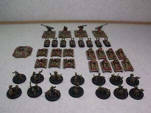 Steve Jackson Ogre Boardgame Miniatures Set #1 Painted
