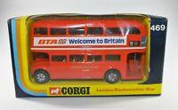 CORGI TOYS #469 LONDON ROUTEMASTER BUS NEAR MINT BOXED Diecast BTA No. 11 Toy