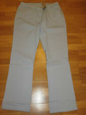 cotton traders chalk blue bootcut jeans size 12 leg 35 brand new with tags