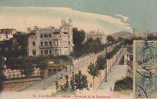 Barcelona Sarria avenida de la bonanova TT ak 1913 españa Espana 1605210