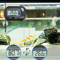 LCD Digital Fish Tank Reptile Aquarium Water Meter Thermometer Temperature Hot
