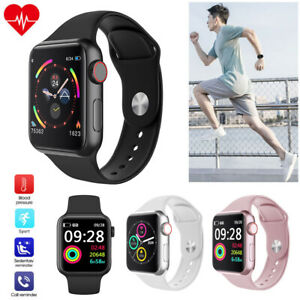 Women Men Bluetooth Sport Smart Watch with Heart Rate Monitor for iPhone Android