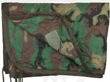 US Military Woobie Quality Poncho Liner Camo Surplus Blanket Sleeping Bag Camp