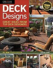 DECK DESIGNS - All New 4th Edition Great Design Ideas from Top Deck Builders NEW