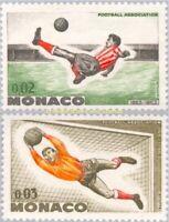 EBS MONACO 1963 Centenary of Football - Shooter and Goalkeeper YT 621-622 MNH**