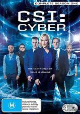 CSI - Cyber : Season 1 (DVD, 2016, 4-Disc Set) R/4