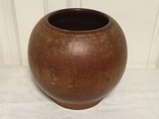 Vintage  Wooden Bulb Hand Turned Rustic Vase