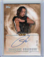 2017 TOPPS WWE UNDISPUTED AUTOGRAPH AUTO BRONZE CARDS (UA-XX) U-Pick From List
