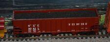 HO Bowser Seaboard Air Line 70 ton coal hopper with load train
