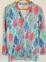 Lilly Pulitzer Odette Tunic Size XS Extra Small Corral