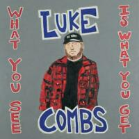 LUKE COMBS What You See Is What You Get CD BRAND NEW