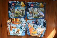 New Lego Legends of Chima #70156 SpeedOrz Fire vs Ice Laval, 70151, 70105, 70101