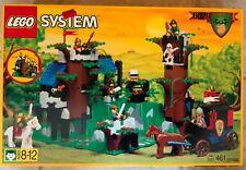 Lego Dark Forest 6079 Dark Forest Fortress  (461 pcs) New SEALED 1996 VGC
