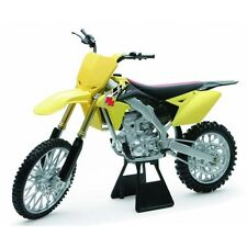 NEW RAY 1:12 SUZUKI RMZ 450 DIE CAST GIOCATTOLO MODELLINO Motocross Giallo SUPERCROSS FMX