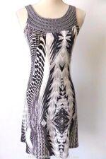 Teaberry  Size 8 US 4 Sleeveless Embellished Print Shift Dress