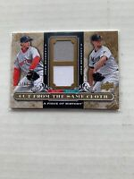 2008 Upper Deck A Piece of History Cut from the Same Cloth Tan /99 Josh Beckett