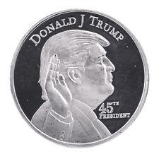 1PCS Donald Trump 45th President Silver Coin US. 2020 Make Liberals Cry Again EN