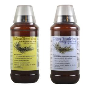 Zalmanov's RejuvenatingTurpentine Bath Emulsion -White or Yellow 236 ml / 8 Fl