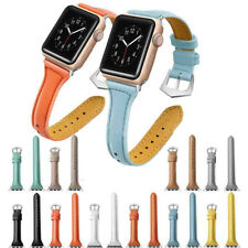 Leather Watch Band Strap Bracelet for iWatch Apple Watch Series 4/3/2/1 38 42mm