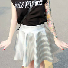 Hologramm Rock Mini Kleid Kpop 2NE1 DARA Party Club Wear Kostüm Karneval Cosplay