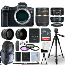 Canon EOS R Mirrorless Camera + 4 Lens Kit 28-75mm AF + 50mm + 32GB & More