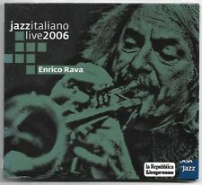 CD ENRICO RAVA Jazz italiano Live 2006 (Casa del Jazz 06) free jazz Negri SEALED