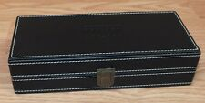 Unbranded / Generic Double 6 Dominoes Set With Black Faux Leather Case **READ**
