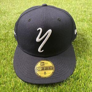 New Era 59fifty Staten Island Yankees Minor League Baseball Hat 8 Navy