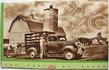 GMC Trucks Original Commercial Sales Brochure circa 1950s