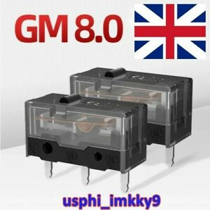 2x Kailh GM 8.0 Switches - UK Stock - FAST POSTAGE - Gaming mouse switch - 80M
