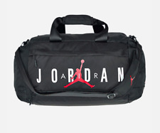 b9eed62053f8 Air Jordan Jumping Man New Black Basketball Gym Sports Duffel Bag