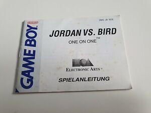 Jordan vs. Bird Spielanleitung Anleitung Nintendo GameBoy Classic Game Boy