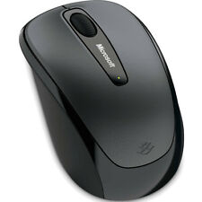 Microsoft Wireless Mobile Mouse 3500 - Lochness Grey for Windows, Mac, Android