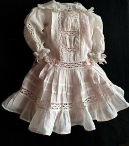 "Finest Antique Dress for app. 22"" Doll GABRIELLA'S FINE DOLL CLOTHING"