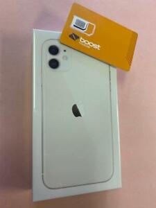 apple iphone 11-64GB-White (BOOST MOBILE) Brand New Sealed 1 Year Apple Warranty