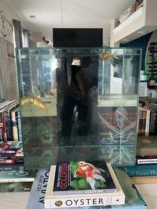 Fluval Edge 2.0 Aquarium, 12 Gallon, Black, Used WITH FILTER, Great Condition