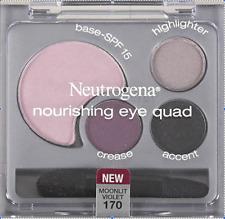 RARE Neutrogena NOURISHING Eye Shadow Palette Eye Quad in MOONLIT VIOLET New